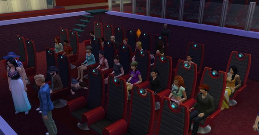 Sims 4 cinema