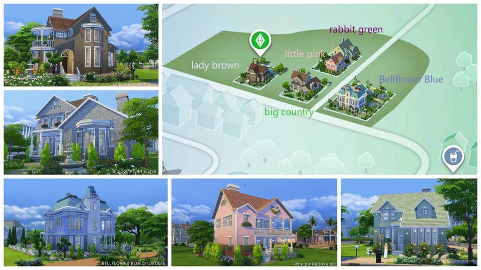 Fill up Newcrest with these Houses and Venues! - Sims Online