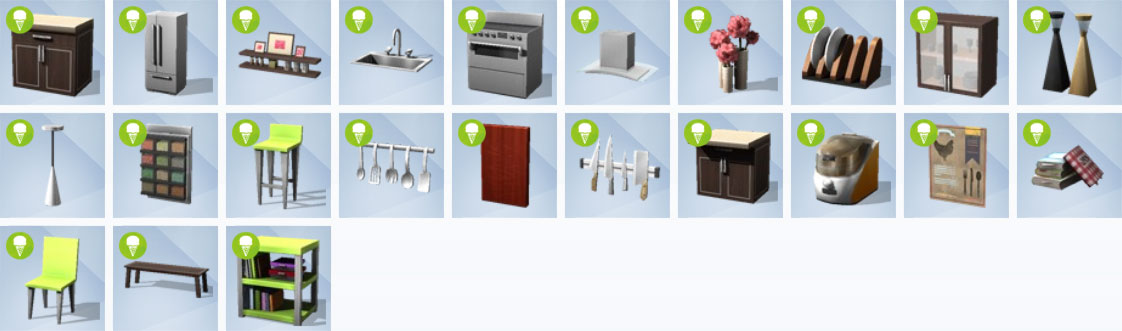 cool kitchen buy mode objects