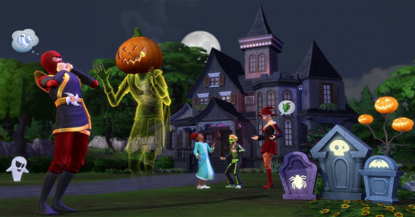 Sims 4 Spooky Stuff Pack