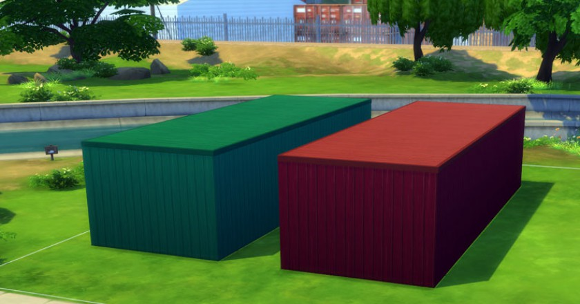 The Sims 4 Container House Challenge