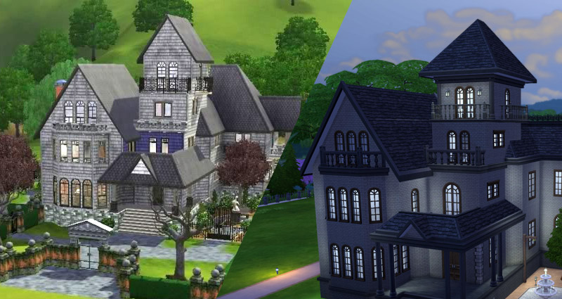 Building Roofs Sims