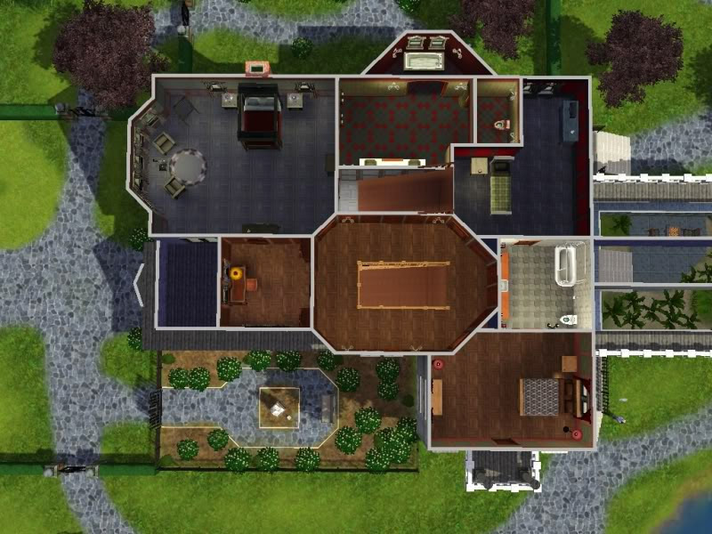 3 Bedroom Upstairs Layout