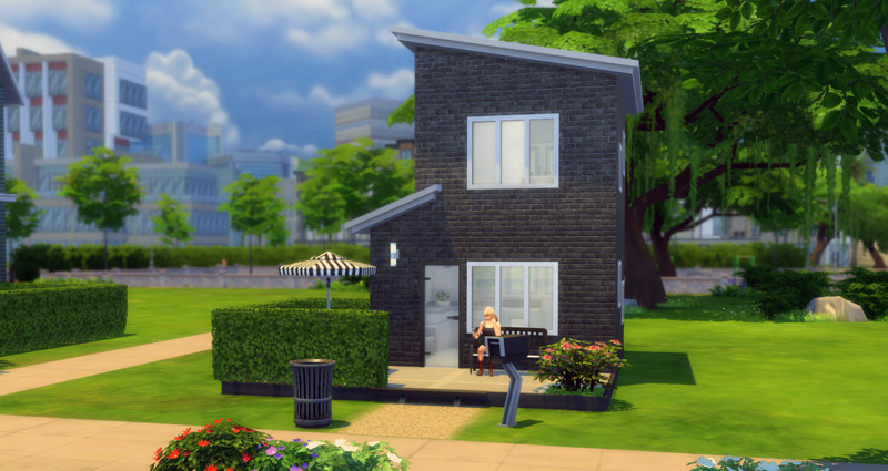 The Sims 4 Building Challenge: Mini Micro House