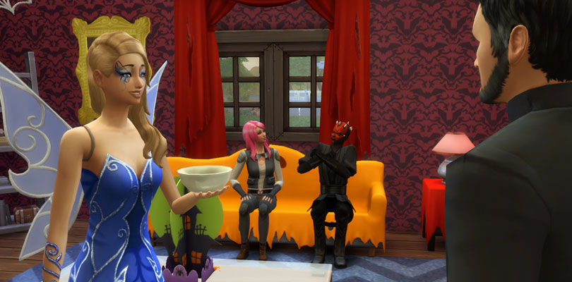 Throwing a Spooky Halloween Party in The Sims 4 - Sims Online