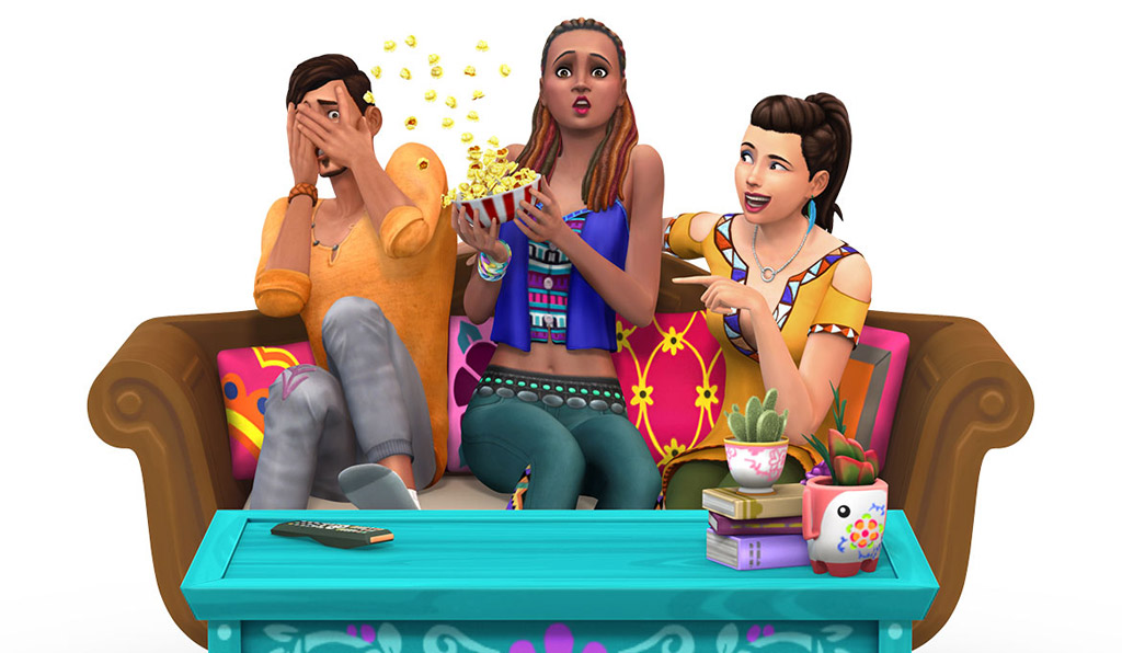 Sims 4 Movie Hangout stuff