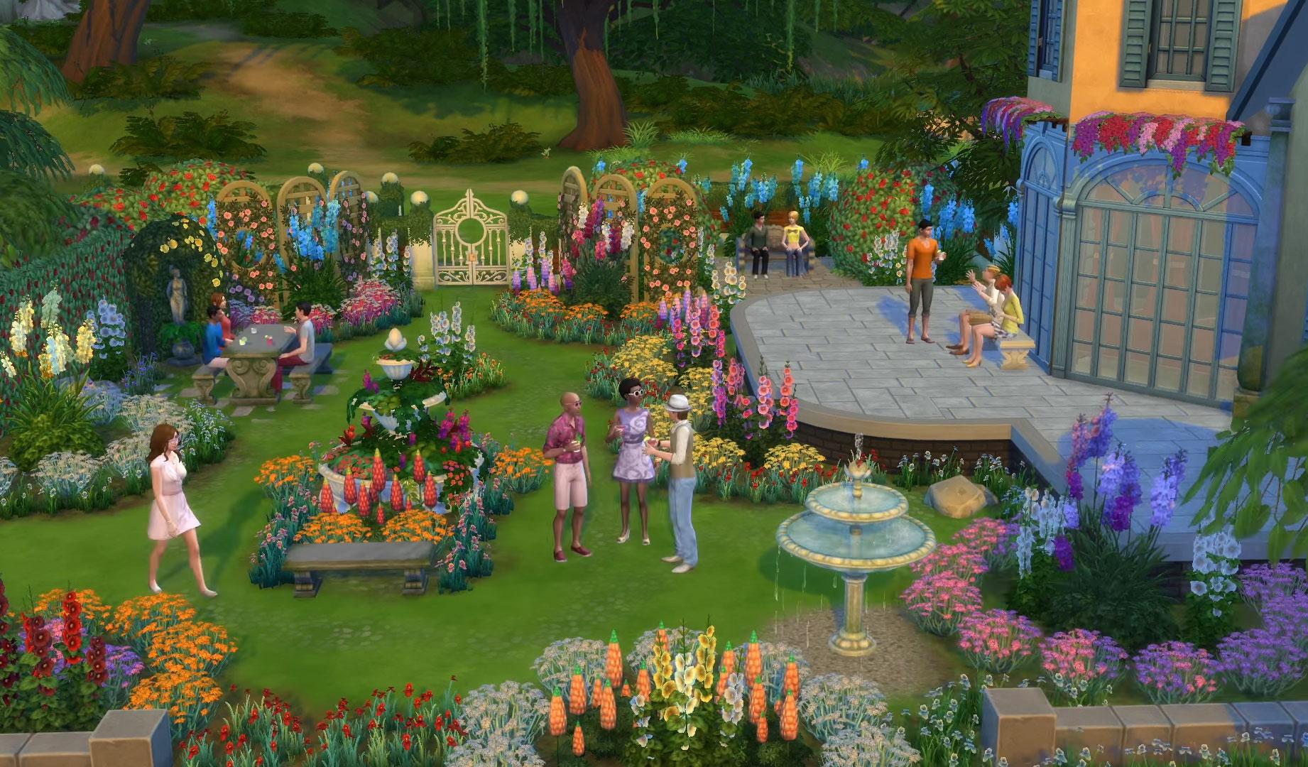 Sims  Decoration Ideas