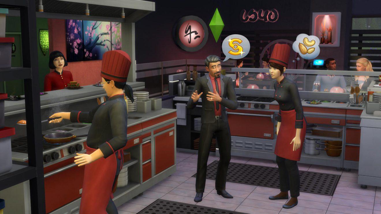 asian themed restaurant