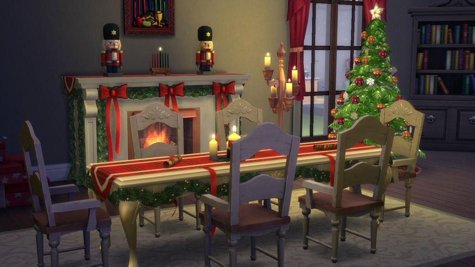 sims 4 Christmas stuff