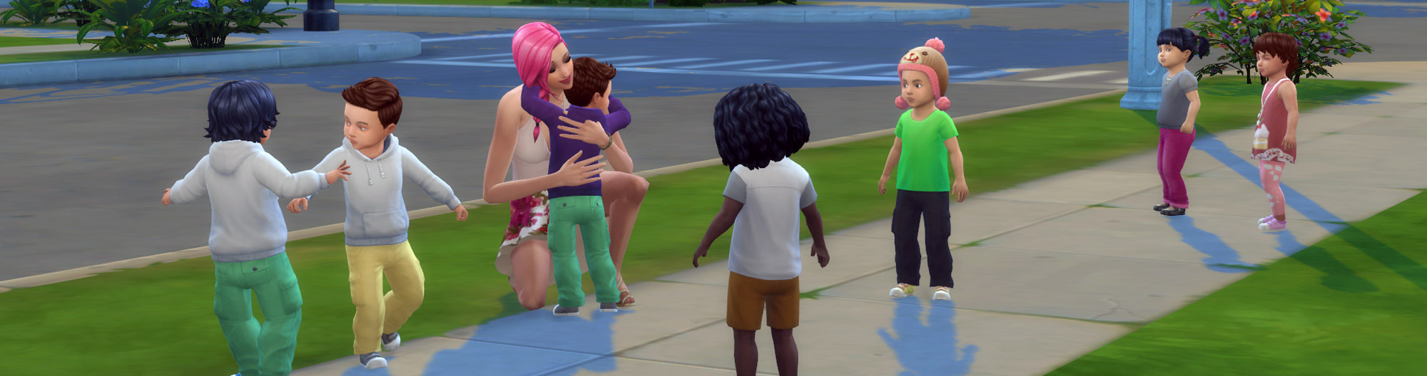 The Sims 4 Play Challenge: Grow Up 7 Toddlers - Sims Online