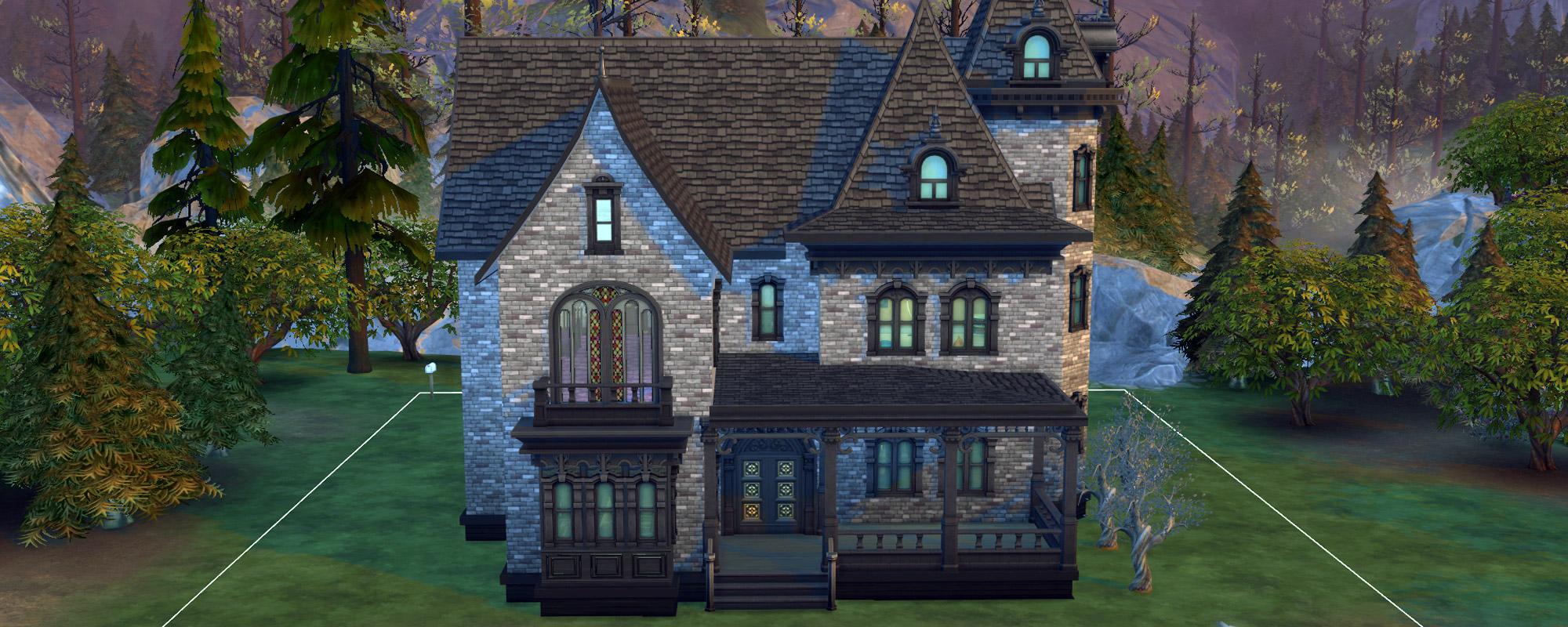 Sims 4 the haunted halls of drakenhof manor - 3 4