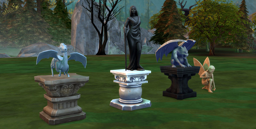 The Sims 4 Vampires Features Build Buy Mode Sims Online
