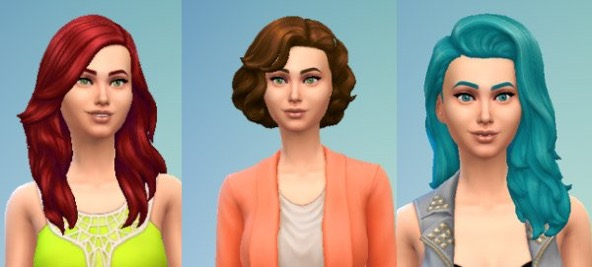 Top Ten Hairstyles For The Sims 4 Sims Online
