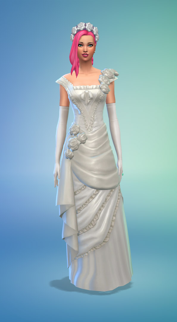 How To Bake Wedding Cake Sims