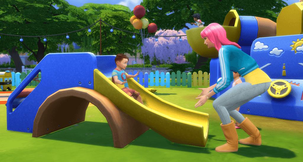 toddler sims 4