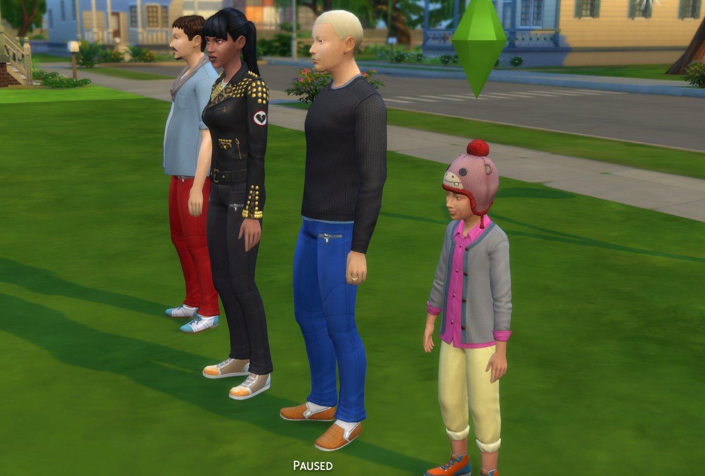 New Create a Sim items