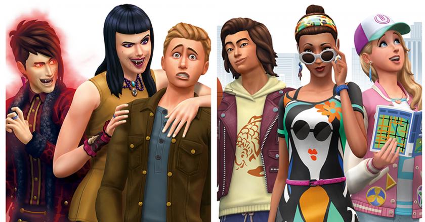 Sims 4 Console DLC packs