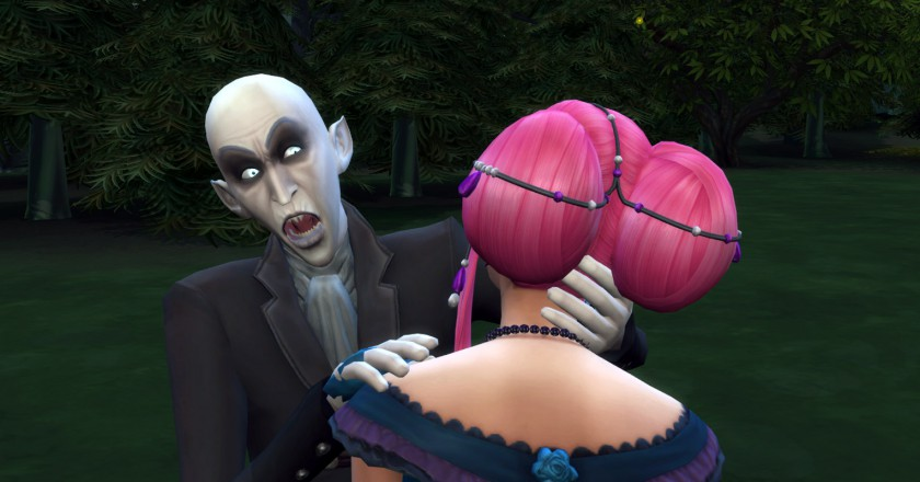 Create Vampire Sims 4