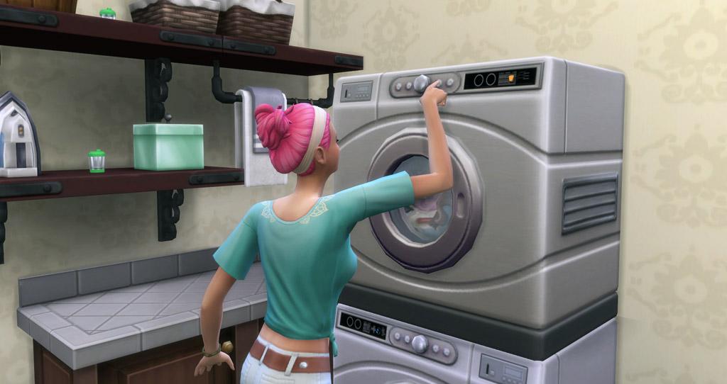 Washing Machine To The Dryer