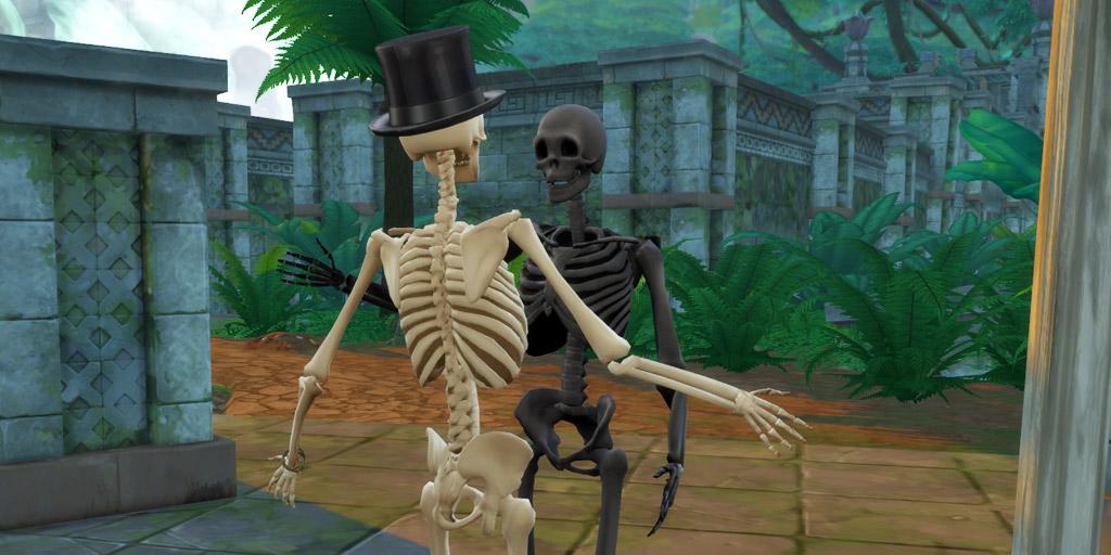 Skeleton colors