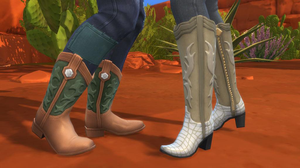 StrangerVille-Boots
