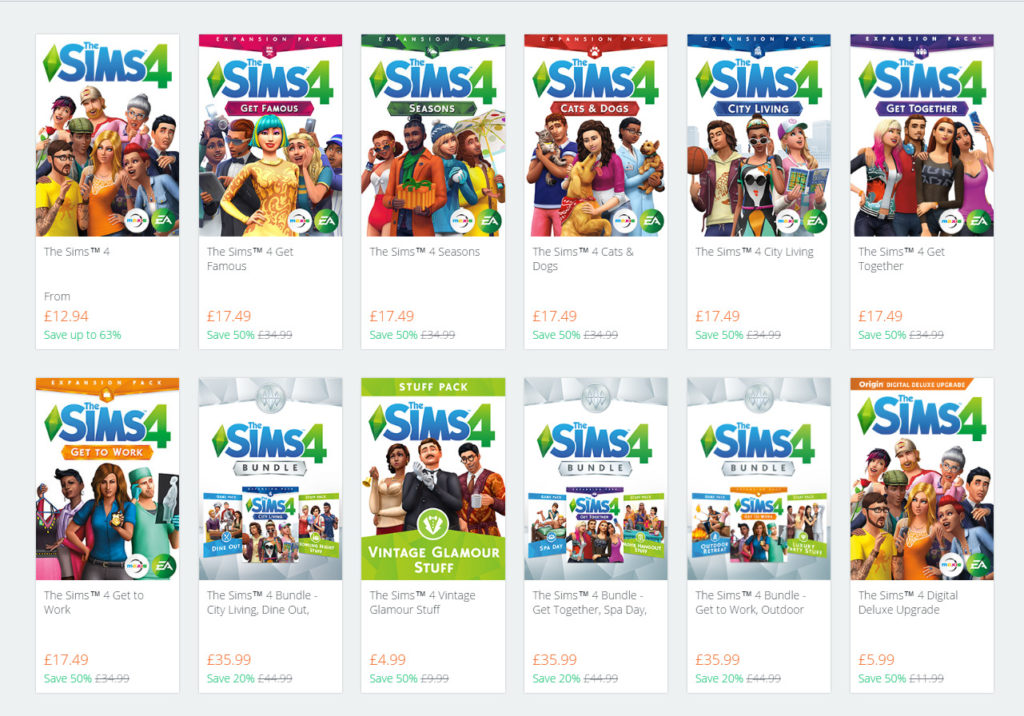 Ea Publisher Sale Save Big On The Sims 4 And All Its Selected Packs Across All Platforms Sims Online