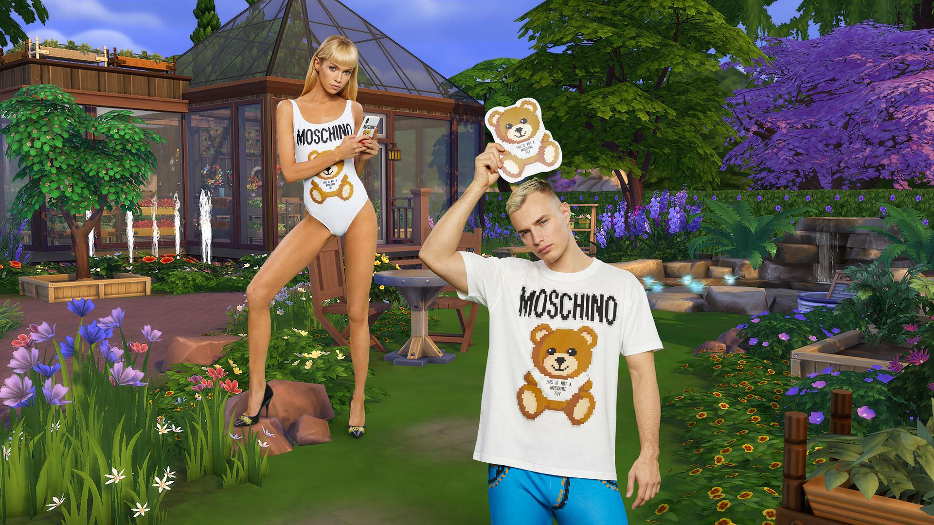 Moschino-Models