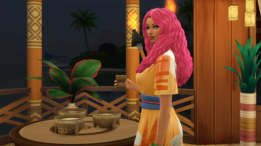 Host a Successful Kava Party In The Sims 4 Island Living