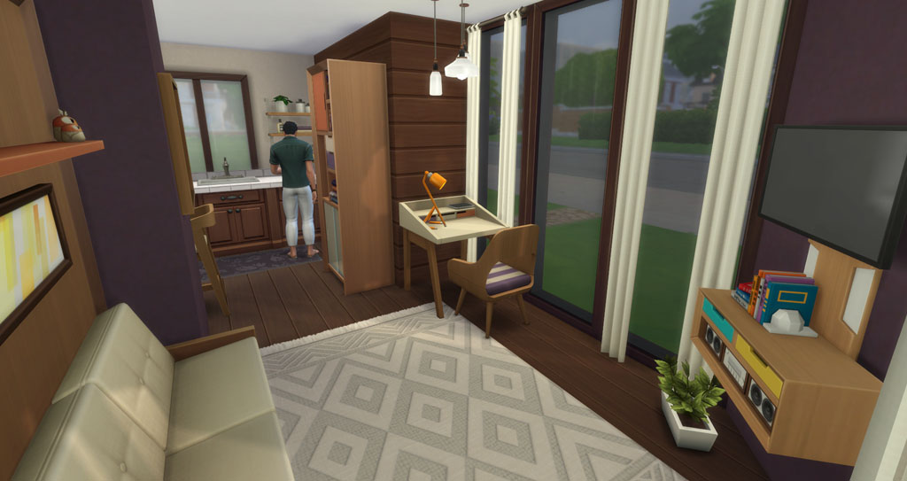 How To Build And Decorate A Tiny House In The Sims 4 Sims Online